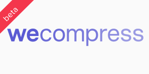 wecompress logo and link